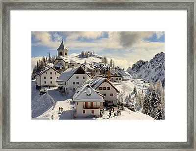 Lussari Framed Print