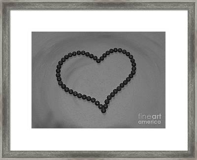 Lust For Chocloate V Framed Print