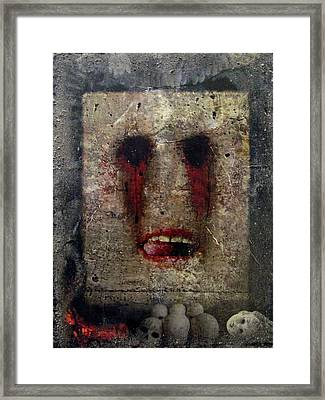 Lust - The 7 Contemporary Sins Framed Print by Janelle Schneider