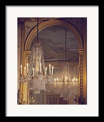 Chandelier Framed Prints