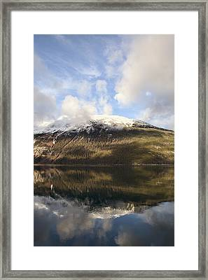Lutak Inlet Reflections Framed Print