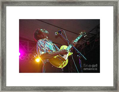 Luther Allison-1 Framed Print by Gary Gingrich Galleries