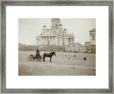 Lutheran Cathedral In Helsinki, Finland, Henry Pauw Van Framed Print