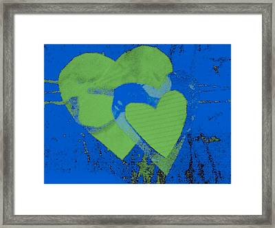 Luv-2 Framed Print by Dorothy Rafferty