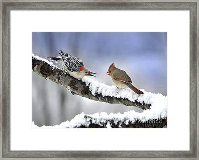 Are You Lonesome Tonight Framed Print