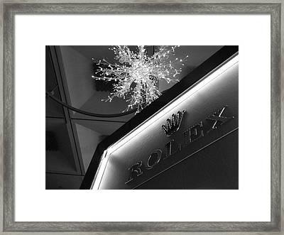 Luxe Framed Print by Blk Loft