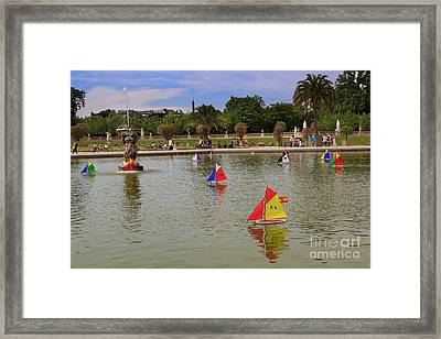 Luxembourg Gardens Paris Framed Print