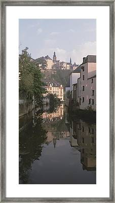 Luxembourg, Luxembourg City, Alzette Framed Print by Panoramic Images