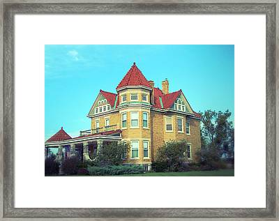 Luxurious Living Framed Print