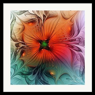 Oranger Framed Prints