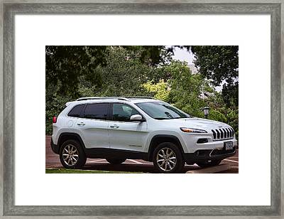 Luxury Jeep 2014 Framed Print by Linda Phelps