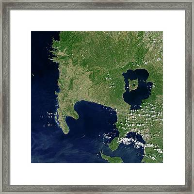 Luzon Island Framed Print