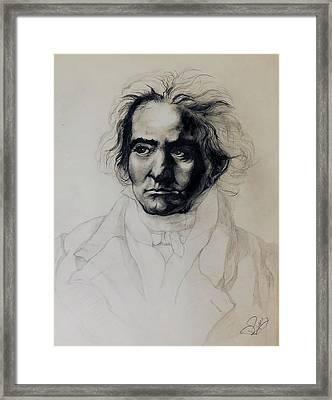 L.v. Beethoven Framed Print
