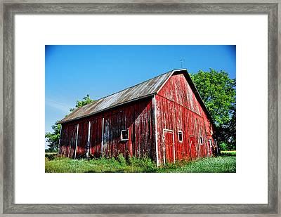 Lwv40061 Framed Print by Lee Wolf Winter