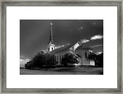 Lwv50003 Framed Print by Lee Wolf Winter