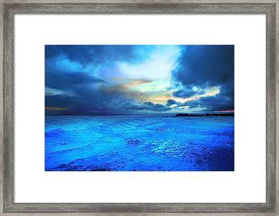 Lwv50030 Framed Print by Lee Wolf Winter