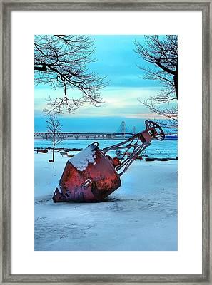 Lwv50034 Framed Print by Lee Wolf Winter
