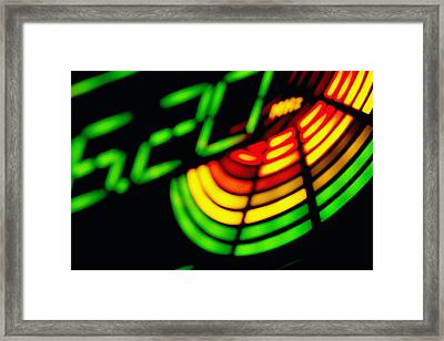 Lwv50045 Framed Print by Lee Wolf Winter