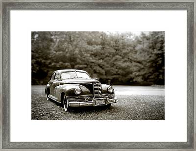 Lwv50053 Framed Print by Lee Wolf Winter