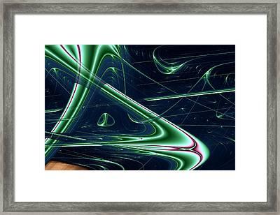 Lyapunov 34 Framed Print by Mark Eggleston