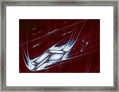 Lyapunov 42 Framed Print by Mark Eggleston