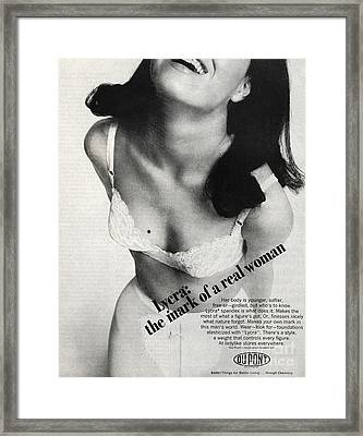 Lycra Advert, 1966 Framed Print by Hagley Archive