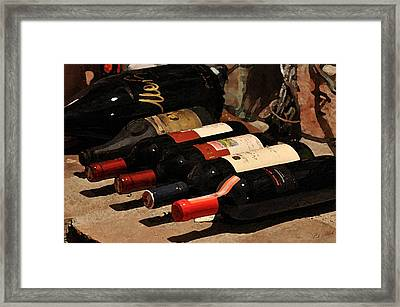 Lying Down Framed Print by Cole Black