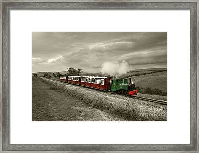 Lynton Barnstaple Railway  Framed Print by Rob Hawkins