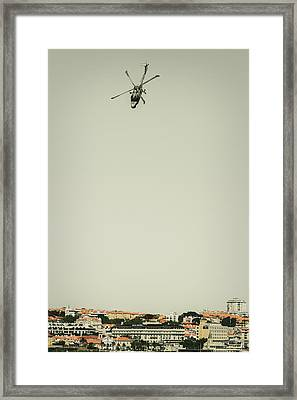Lynx Mk-95 - Air Race Series II Framed Print by Marco Oliveira