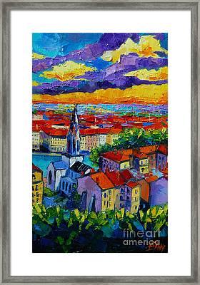 Lyon View 3 Framed Print