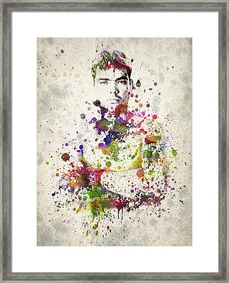 Lyoto Machida Framed Print