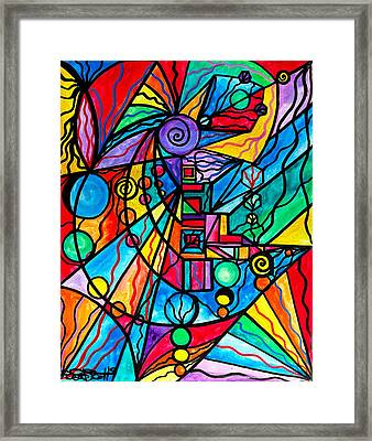 Lyra Framed Print by Teal Eye  Print Store