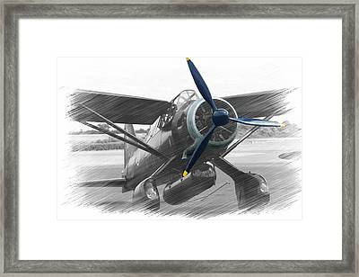 Lysander In Readiness Framed Print by Donald Turner