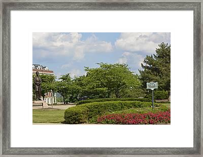 Lytle Park Cincinnati Framed Print