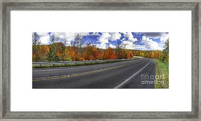 M-22 In Fall Framed Print by Twenty Two North Photography