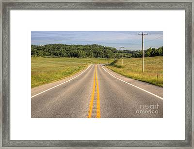M 22 In Northport Framed Print