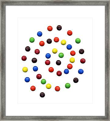 M And M 1 Framed Print