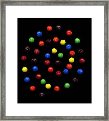 M And M 3 Framed Print