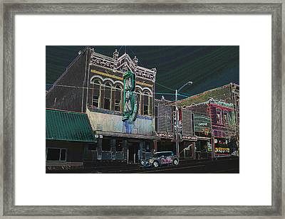 M And M Bar Framed Print