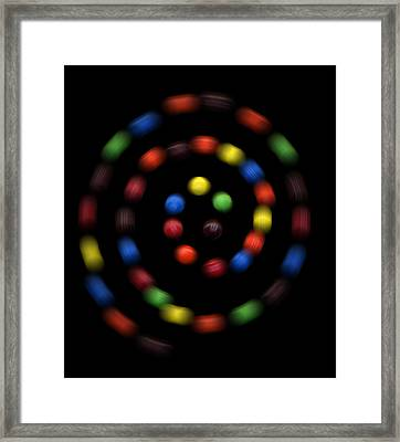 M And Ms 4 Framed Print