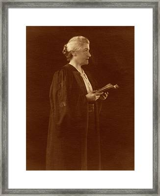 M. Carey Thomas Framed Print by American Philosophical Society