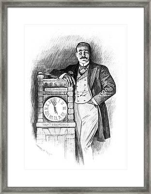 M Framed Print by Granger