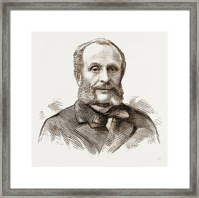 M. Nicholas Carlovitch De Giers, Russian Foreign Minister Framed Print by Litz Collection