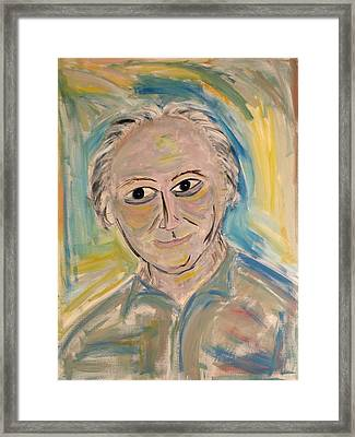 M. Portrait  Framed Print by Maggis Art