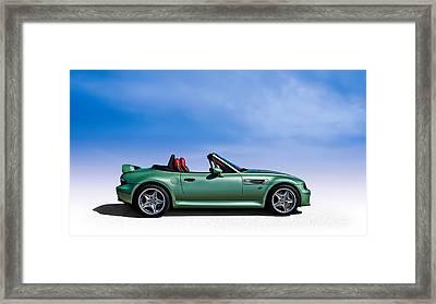 M Topless Framed Print by Douglas Pittman