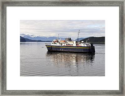 Framed Print featuring the photograph M/v Leconte by Cathy Mahnke