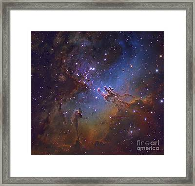 M16, The Eagle Nebula In Serpens Framed Print by Robert Gendler