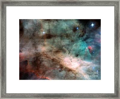 M17, Swan Nebula Framed Print by Science Source