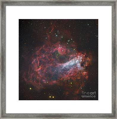 M17, The Omega Nebula In Sagittarius Framed Print