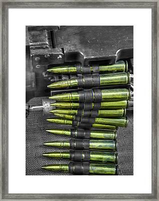 M1919 Browning Machine Gun V1 Framed Print